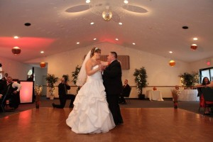 Saratoga Elks, Saratoga Springs, New York. Mr. and Mrs. Cuttita's First Dance